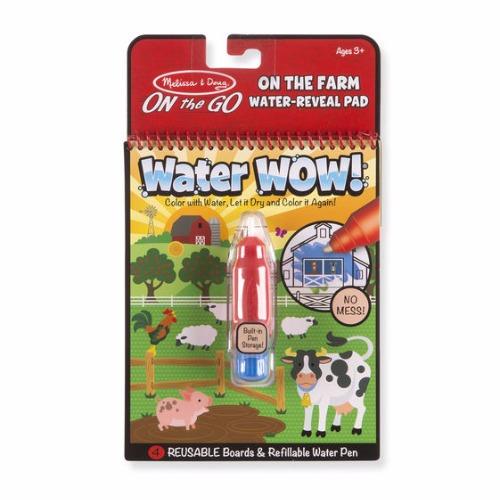 Water wow melissa & doug plaquettes de dessin a l'eau