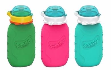 Squeasy Snacker - Pochettes en silicone