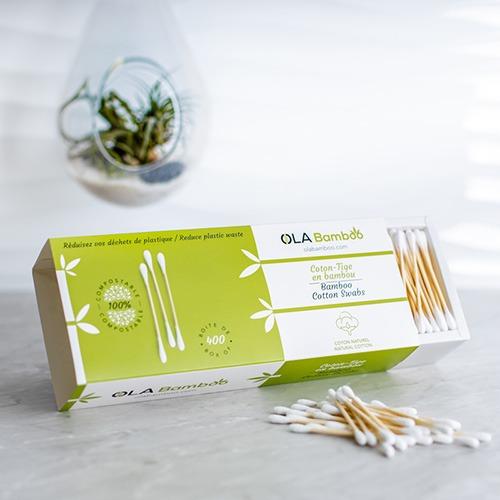 Ola bamboo Coton-tige en bambou