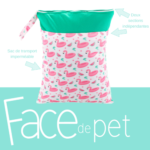 Sac de transport - Face de Pet