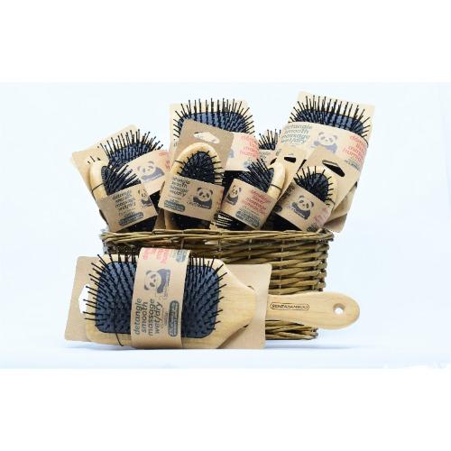Brosse à cheveux en bambou Senzacare