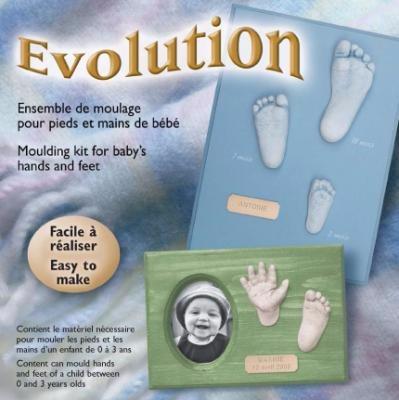Ensemble de moulage pour pieds et mains de bébé