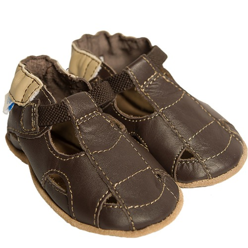 Boys sandal brune