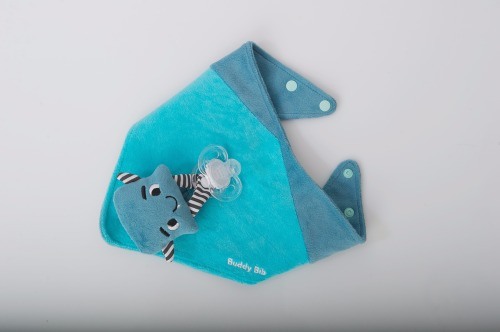 Malarkey Kids - Jouets de dentition Buddy Bib Malarkey Monster