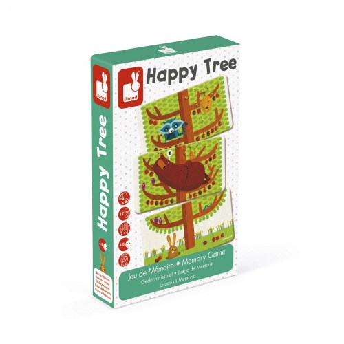 Janod - Jeu de mémoire - Happy tree