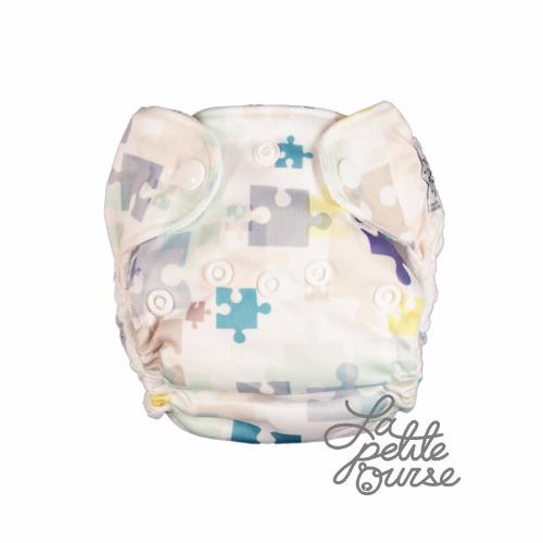 La Petite Ourse (couche lavable nouveau-né tout-en-un)