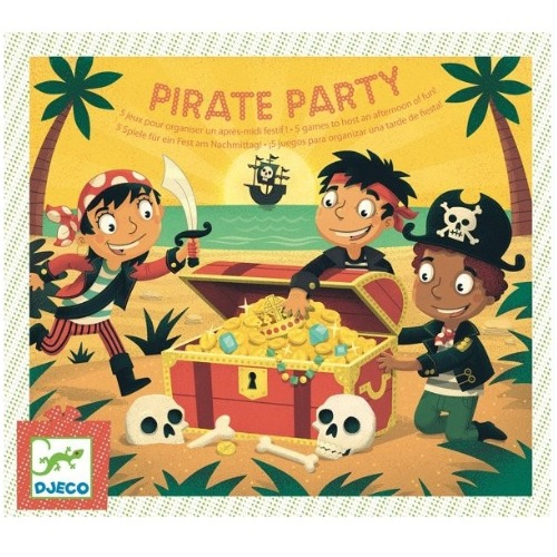 Djeco - Pirate Party