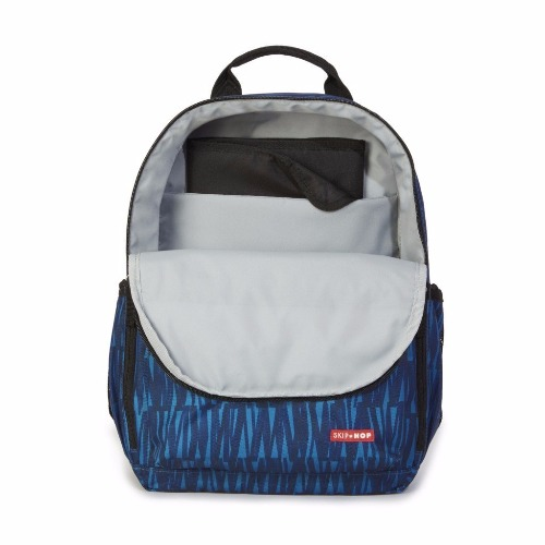 sac duo backpack blue graffiti démo