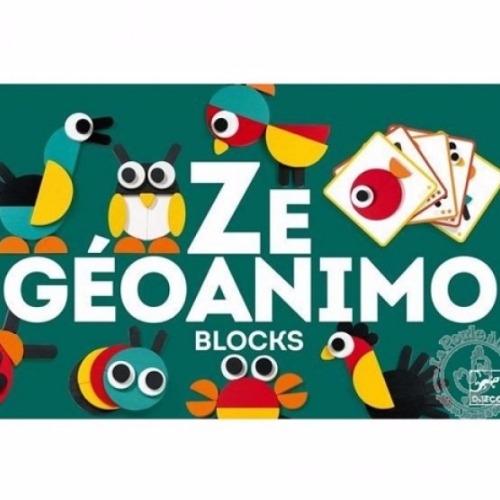 Djeco - Ze géoanimo blocks